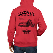 JL Ride Illustration For A Indian Chief Classic Motorbike Fan Hoodie
