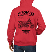 JL Ride Illustration For A MV Agusta Stradale 800 Motorbike Fan Hoodie
