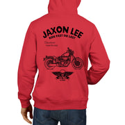 JL Ride Illustration For A Yamaha XV950 Motorbike Fan Hoodie