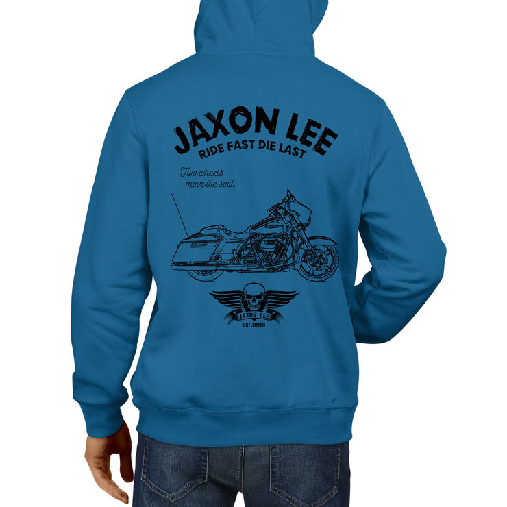 JL Ride Art Hood aimed at fans of Harley Davidson Street Glide Motorbike