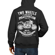 JL Soul Illustration For A BMW RNineT 2017 Motorbike Fan Hoodie