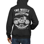 JL Soul Illustration For A BMW RNineT Pure 2017 Motorbike Fan Hoodie