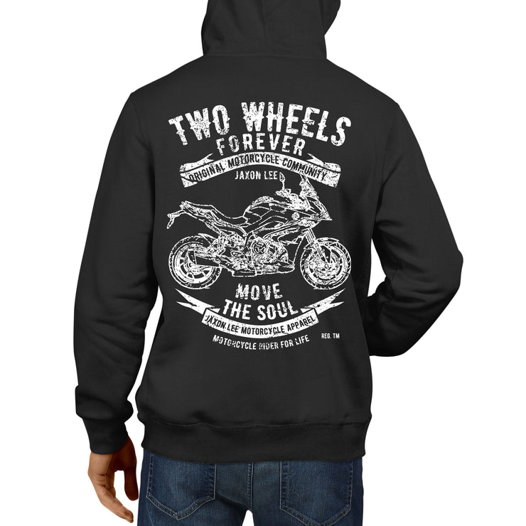 JL Soul Illustration For A BMW S1000XR 2017 Motorbike Fan Hoodie