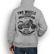 JL Soul Illustration For A Honda CB1000R Motorbike Fan Hoodie