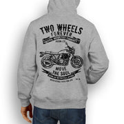 JL Soul Illustration For A Honda CB1100 Motorbike Fan Hoodie
