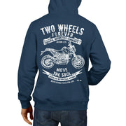 JL Soul illustration for a KTM 690 Duke Motorbike fan Hoodie