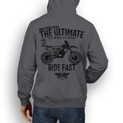 JL Ultimate Illustration For A Suzuki RMZ 250 2014 Motorbike Fan Hoodie