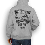 JL Ultimate Illustration For A BMW R1200RT 2010 Motorbike Fan Hoodie