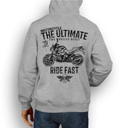 JL Ultimate Illustration For A BMW R1200R 2012 Motorbike Fan Hoodie