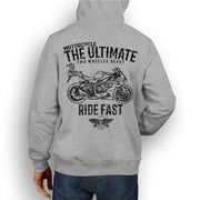 JL Ultimate Illustration For A BMW S1000RR 2011 Motorbike Fan Hoodie