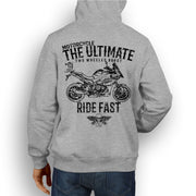 JL Ultimate Illustration For A BMW S1000XR 2017 Motorbike Fan Hoodie