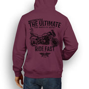 JL Ultimate Illustration For A Suzuki Bandit 1250SA 2012 Motorbike Fan Hoodie