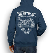 JL Ultimate Illustration For A MV Agusta F4RR Motorbike Fan Hoodie