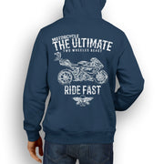 JL Ultimate Illustration For A MV Agusta F4 RC Motorbike Fan Hoodie