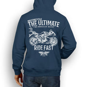 JL Ultimate Illustration For A Yamaha YZF-R1 2014 Motorbike Fan Hoodie