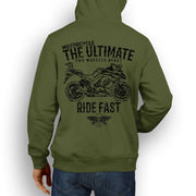 JL Ultimate Illustration For A Kawasaki Z1000SX 2016 Motorbike Fan Hoodie