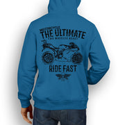 JL Ultimate Illustration For A Ducati 1098R Motorbike Fan Hoodie