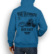 JL Ultimate Illustration For A Victory Cross Country Motorbike Fan Hoodie