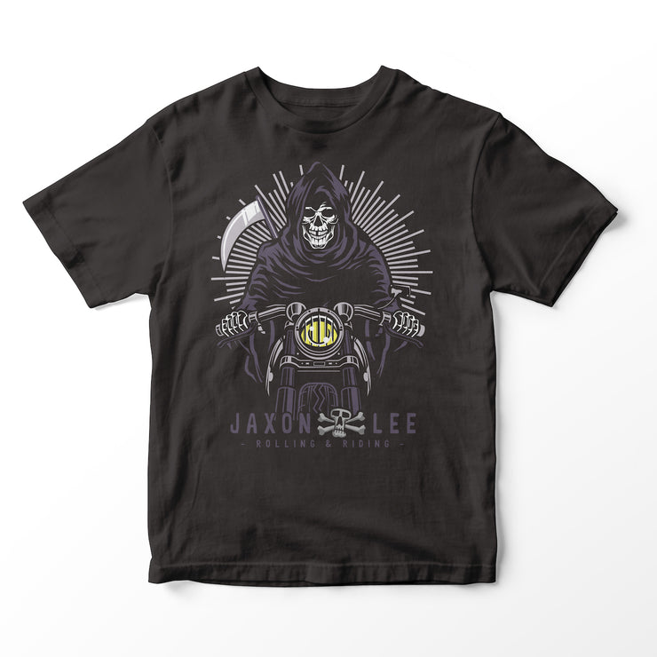 Jaxon Lee Grim Reaper Motorcycle – T-shirt