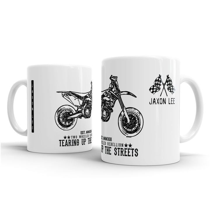 JL illustration for a KTM 450 SMR Motorbike fan – Gift Mug