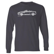 JL Illustration For A Aston Martin DBS Volante Motorcar Fan LS-Tshirt
