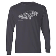 JL Illustration For A Aston Martin Lagonda Motorcar Fan LS-Tshirt