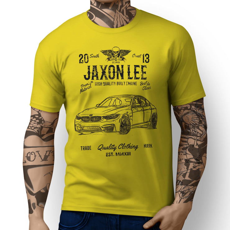 JL Soul Illustration For A BMW M3 2017 Motorcar Fan T-shirt