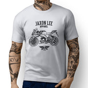 Jaxon Lee Illustration for a Aprilia RS450 Motorbike fan T-shirt