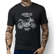 Jaxon Lee Illustration for a Aprilia Tuono V4 R APRC Motorbike fan T-shirt