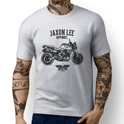Jaxon Lee Illustration For A BMW F800R Motorbike Fan T-shirt