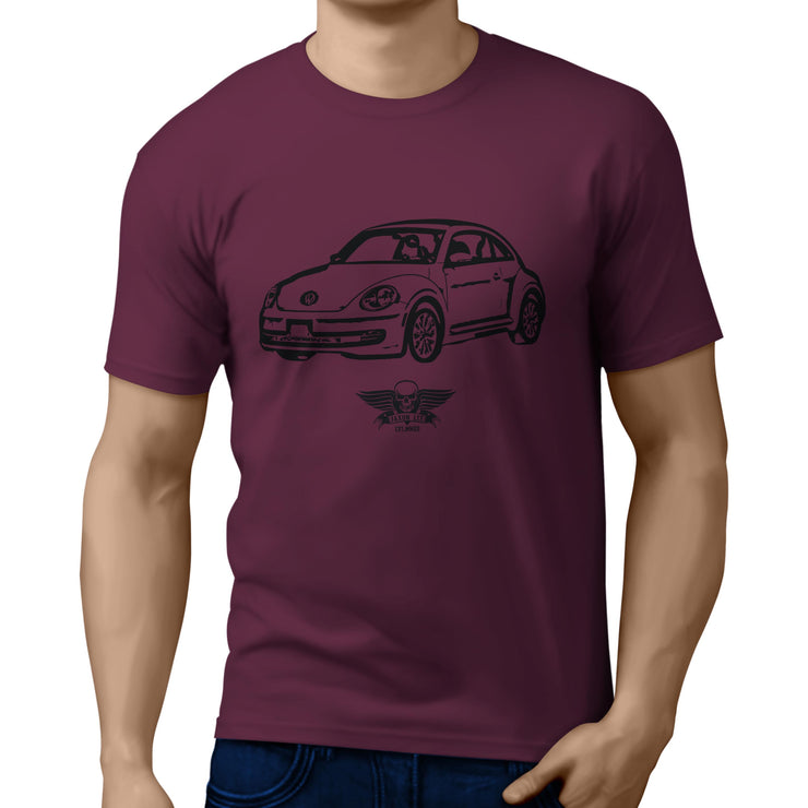 Jaxon Lee illustration for a Volkswagen Beetle 2012 Motorcar fan T-shirt