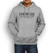 JL Ride Illustration For A Indian Chieftain Dark Horse Motorbike Fan Hoodie