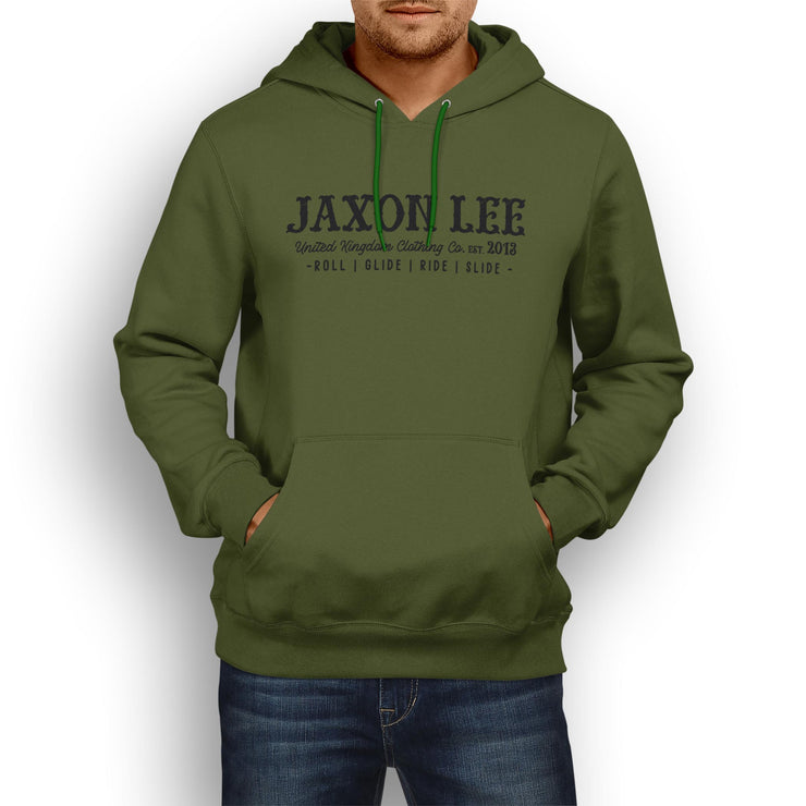 JL Soul Illustration For A Kawasaki Ninja ZX10R KRT Motorbike Fan Hoodie