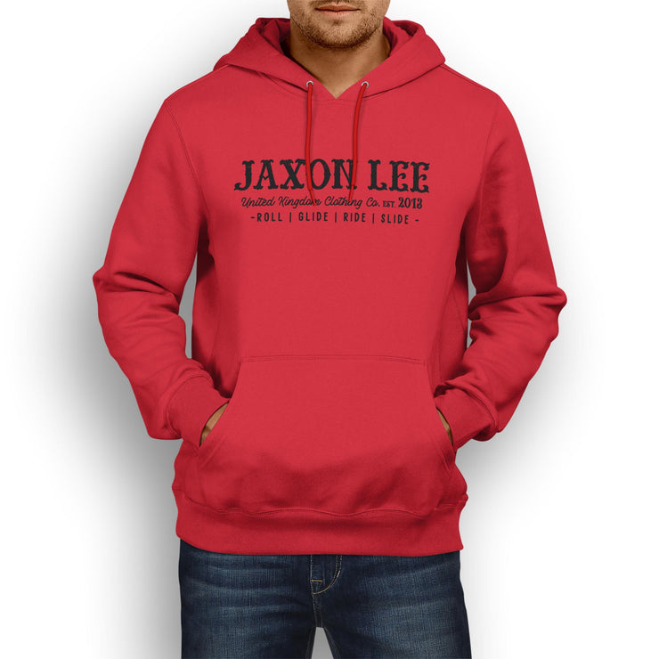 JL Ride Illustration For A Ducati Scrambler Classic Motorbike Fan Hoodie