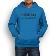 JL Soul Illustration For A Kawasaki Vulcan 900 Motorbike Fan Hoodie