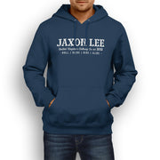 JL Ride Illustration For A Kawasaki 1400GTR Motorbike Fan Hoodie