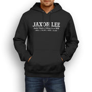 JL Soul Illustration For A Indian Chief Vintage Motorbike Fan Hoodie