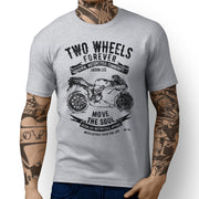 JL Soul Illustration For A Ducati 1089R Motorbike Fan T-shirt - Jaxon lee
