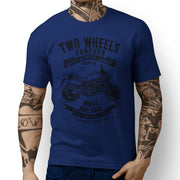 JL Soul Illustration For A Ducati Monster 821 Motorbike Fan T-shirt - Jaxon lee