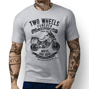 JL Soul Illustration For A Ducati Multistrada 1200 Enduro Motorbike Fan T-shirt - Jaxon lee
