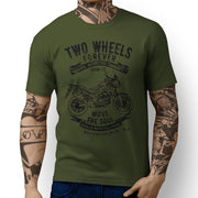 JL Soul Honda Africa Twin 2016 inspired Motorcycle Art design – T-shirts - Jaxon lee