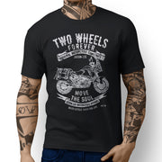 JL Soul illustration for a KTM 1290 Super Adventure T Motorbike fan T-shirt