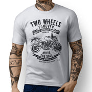 JL Soul illustration for a KTM 990 DukeR Motorbike fan T-shirt