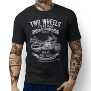 JL* Soul Illustration For A Kawasaki Vulcan 1700 Voyager Motorbike Fan T-shirt