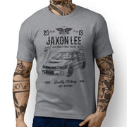 JL Soul Illustration For A Mitsubishi Evo IX Motorcar Fan T-shirt