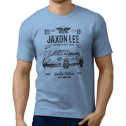 JL Soul illustration for a Volkswagen Beetle Cabriolet Motorcar fan T-shirt