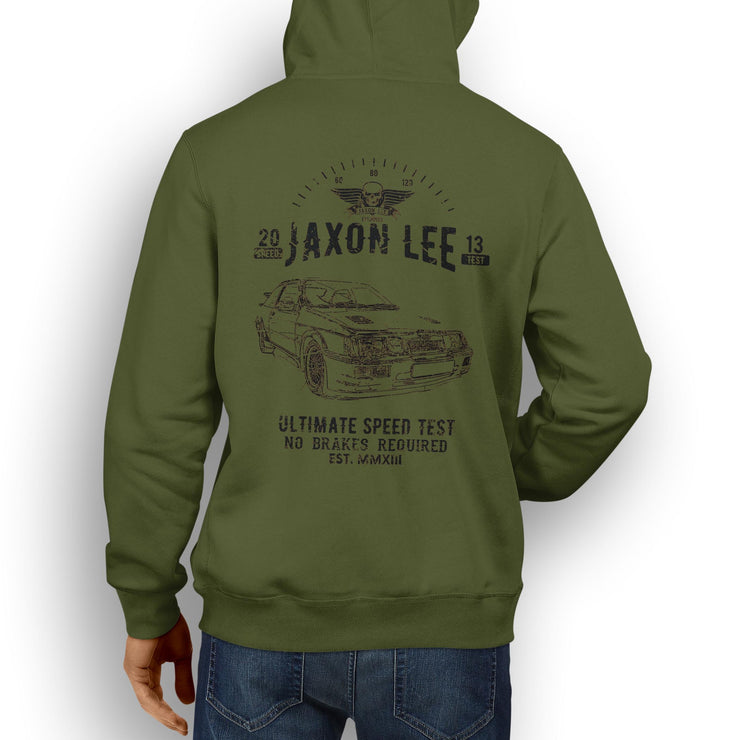 JL Speed Illustration For A Cosworth RS500 Motorcar Fan Hoodie