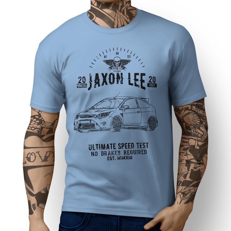 JL Speed Illustration For A Ford Focus RS mk2 Motorcar Fan T-shirt