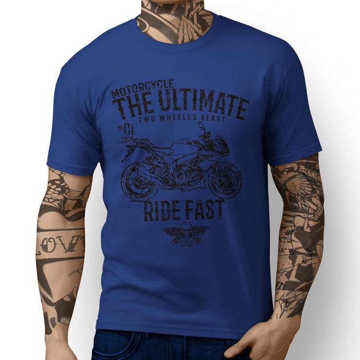 JL Ultimate Illustration for a Aprilia Tuono V4 R APRC Motorbike fan T-shirt