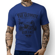 JL Ultimate Illustration For A BMW HP2 Sport Motorbike Fan T-shirt
